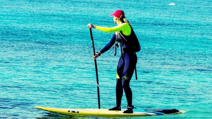 Le stand up paddle est un sport très tonique et qui vous garde en bonne santé !