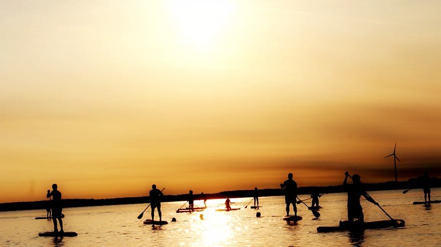 Au top de votre forme avec le Stand up paddle